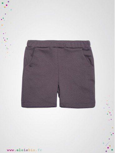 short-enfant-gris-fonce-coton-bio-wooly-organic-eloisbio