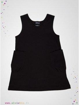 robe-enfant-basic-noir-coton-bio-aarrekid