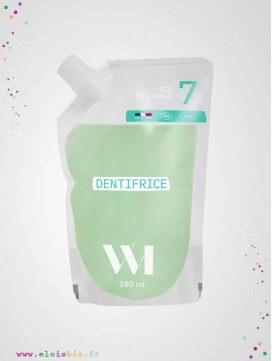 Eco-Recharge Dentifrice fluor 7 ans et plus - 180ml