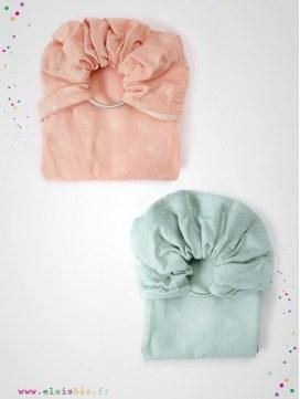 Echarpe de portage - Sling Ginkgo, coton bio - 2 coloris