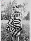 robe-enfant-imprime-stripe-rayures-noires-coton-bio-aarrekid