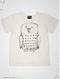 T-shirt Hibou manches courtes
