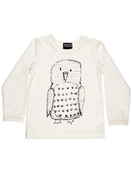 eloisbio-t-shirt ml hibou aarrekid