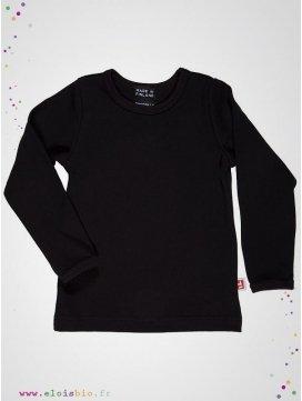 tee-shirt-enfant-coloris-noir-coton-bio-aarrekid