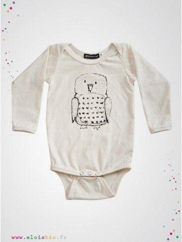body-enfant-manches-longues-imprime-hibou-coton-bio-aarrekid-eloisbio