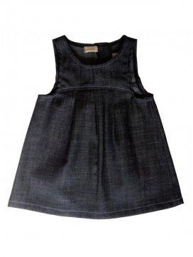 eloisbio-robe en denim minizabi