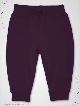 Pantalon jogging Prune