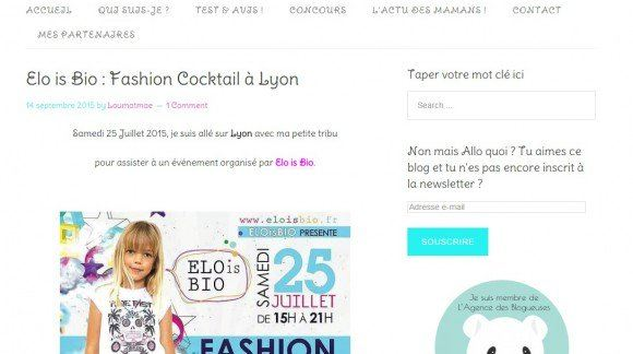FASHION COCKTAIL ELOISBIO VU PAR LA BLOGUEUSE LOUMATMAÉ