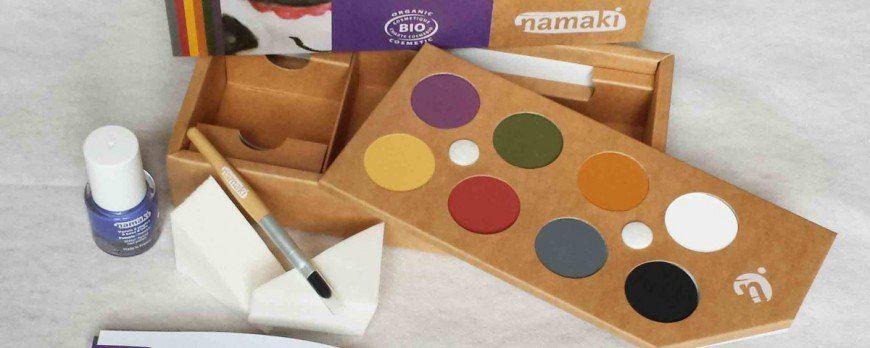 NAMAKI, ENFIN UN MAQUILLAGE NATUREL POUR ENFANTS