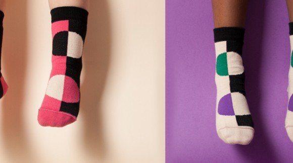 Les Chaussettes Aarrekid, avant et après!