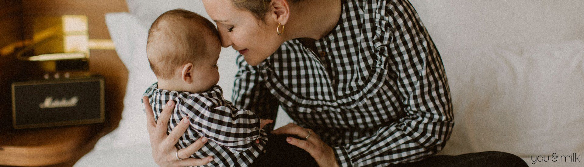 Vêtements allaitement matchy maman et bébé en coton bio Vis.Chill You&Milk