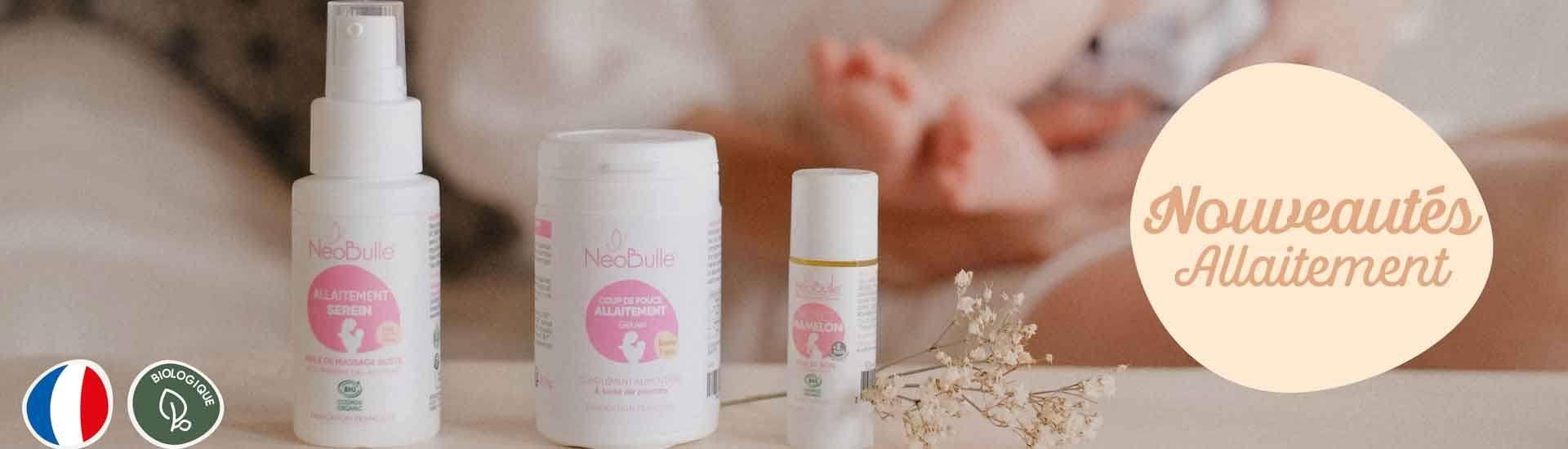 Gamme allaitement jeune maman naturelle et bio France