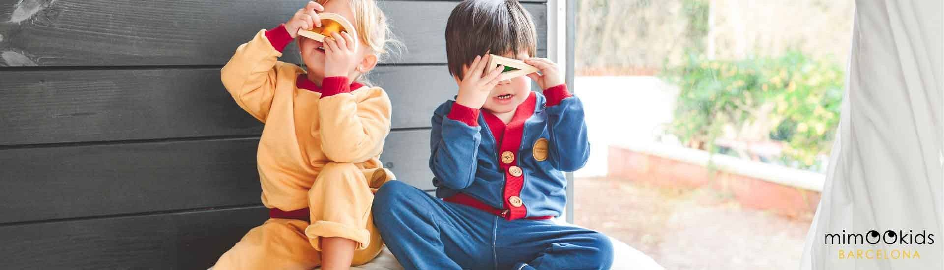 Vêtements enfants coton bio fabrication Europe Mimookids